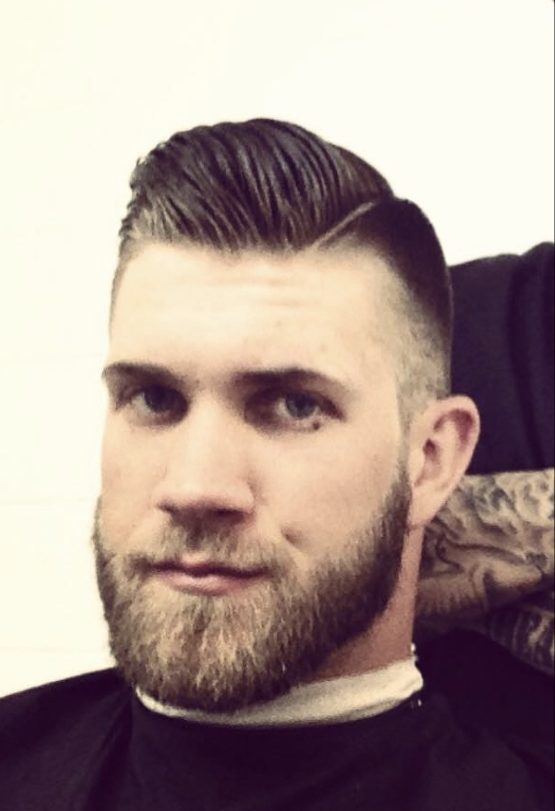 bryce harper miami haircut